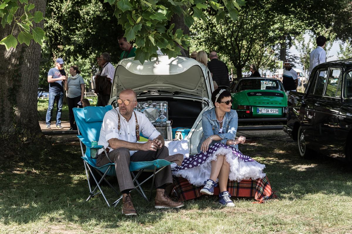 Picknick bei den Classic Days