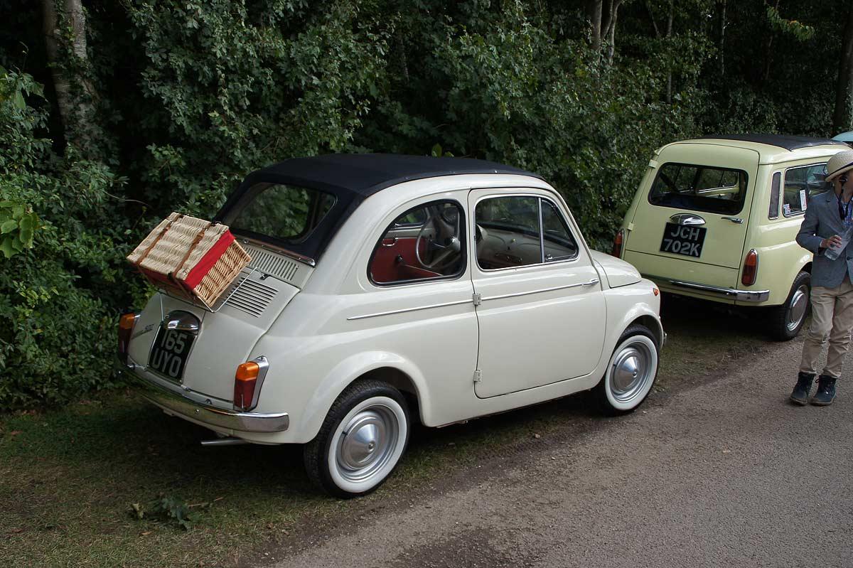 Goodwood Revival - Fiat 500