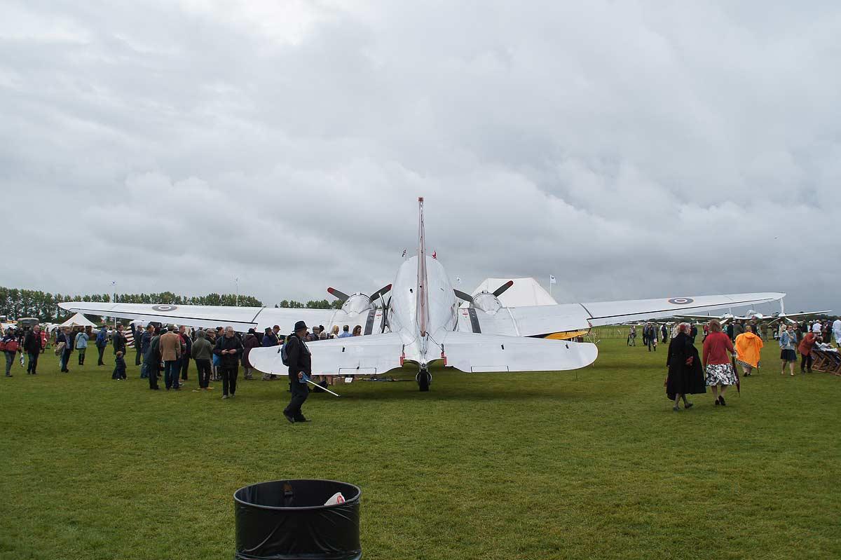 Goodwood Revival 17 - Flugzeuge