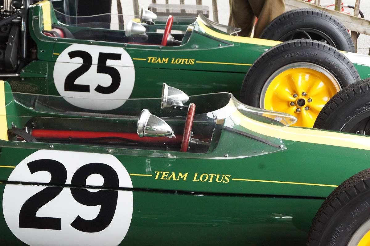 Lotus - GT Fahrerlager - Goodwood Revival 2017