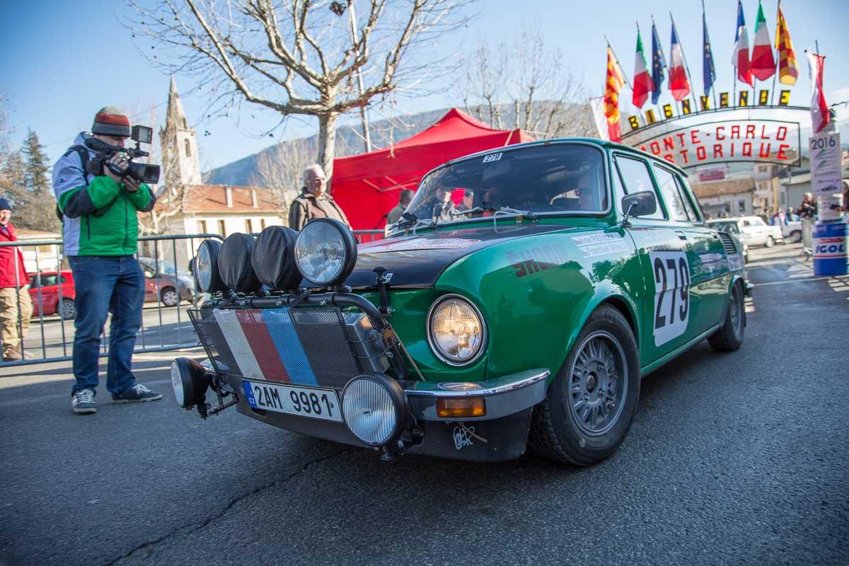 Saint-André-les-Alpes · Étape de concentration · 19. Rallye Monte-Carlo Historique 2016 · 30.01.2016, 12:36 Uhr
