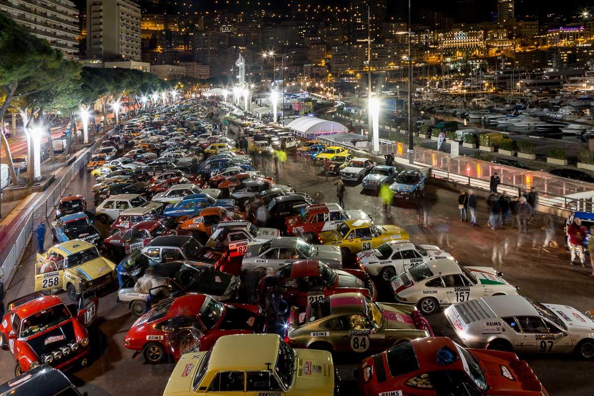 Kurz vor dem Start · Étape final · 20. Rallye Monte-Carlo Historique 2017 · 31.01.2017, 21:04 Uhr