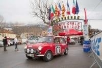Restart in Saint-André-les-Alpes, Frankreich, 20. Rallye Monte-Carlo Historique 2017, Fahrer Rauno Aaltoonen