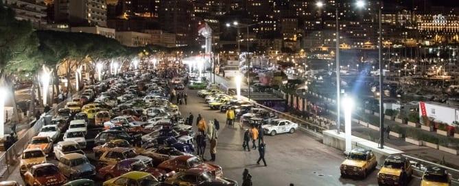 Rallye Monte Carlo Historique 2018 Valence - Monaco
