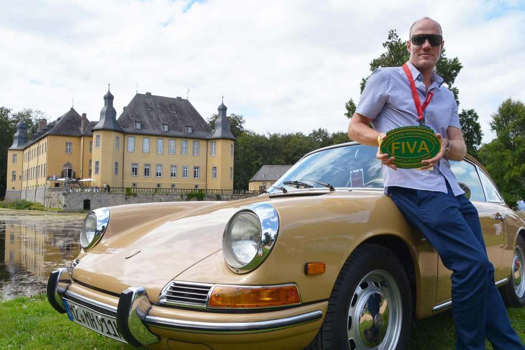 FIVA Preservation Award für den 911 SWB von Markus Haub