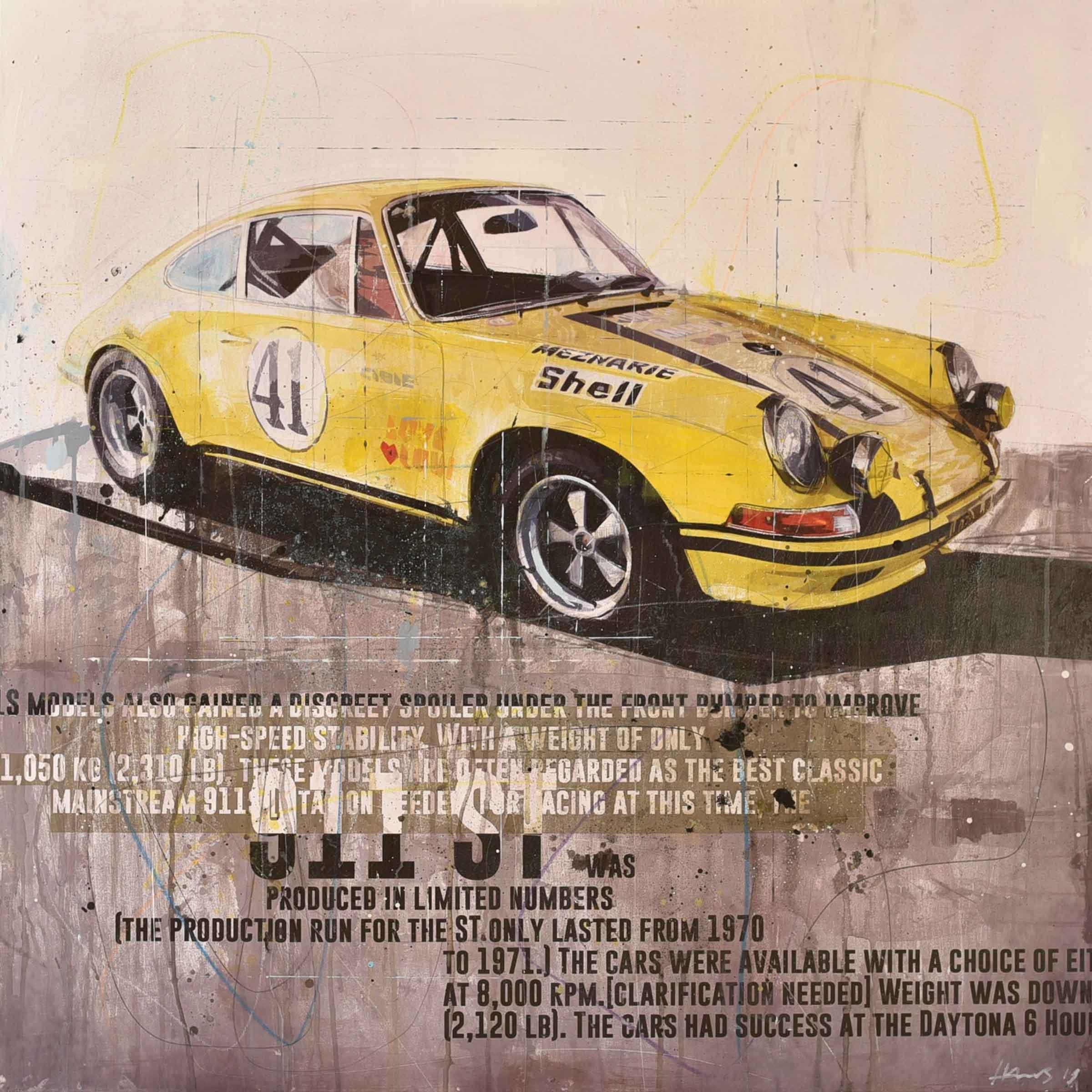 """Ein Bild aus der Serie """"Racing Legends"""" von Markus Haub"""