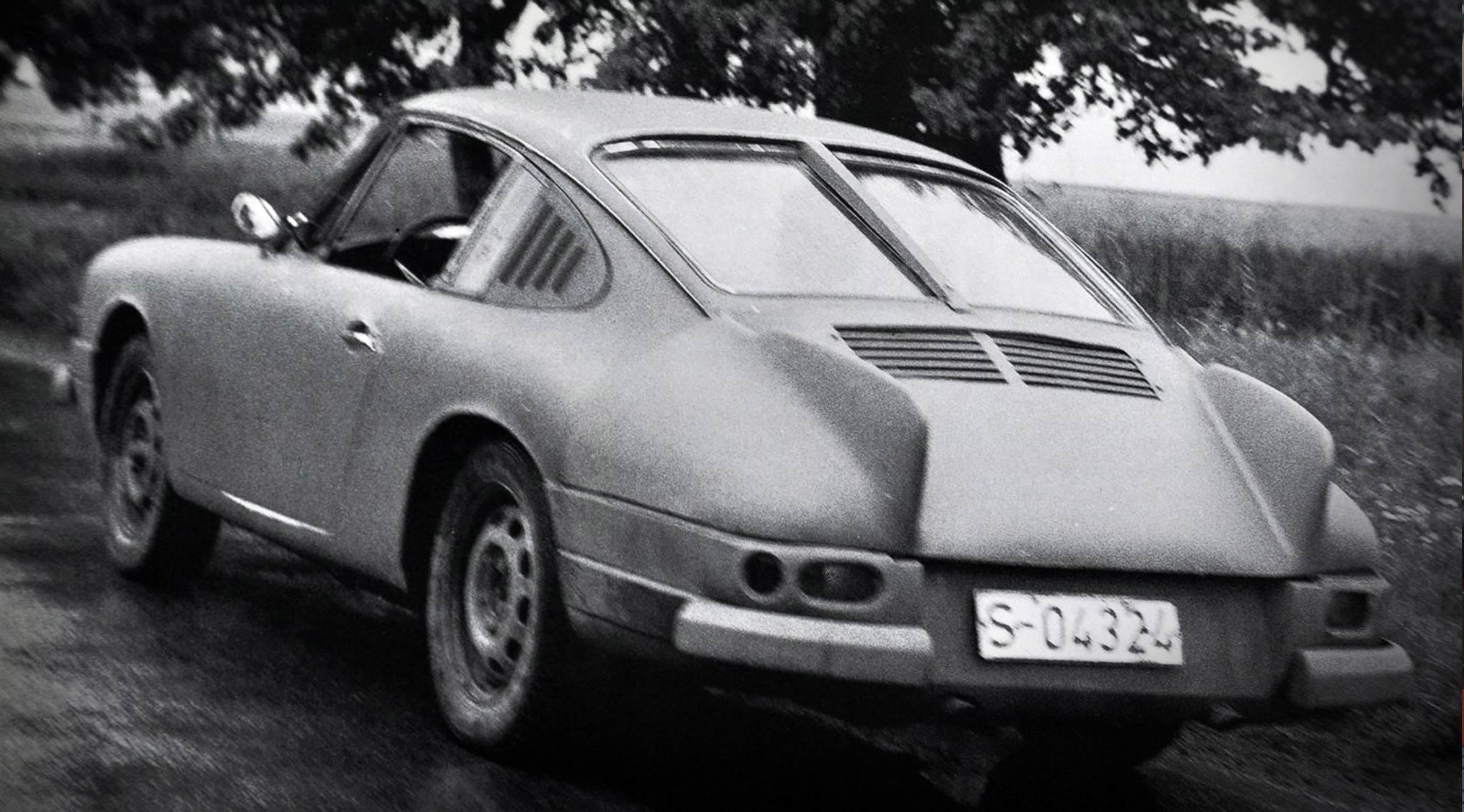 Fledermaus – Erster Prototyp des 911er Porsche –1963