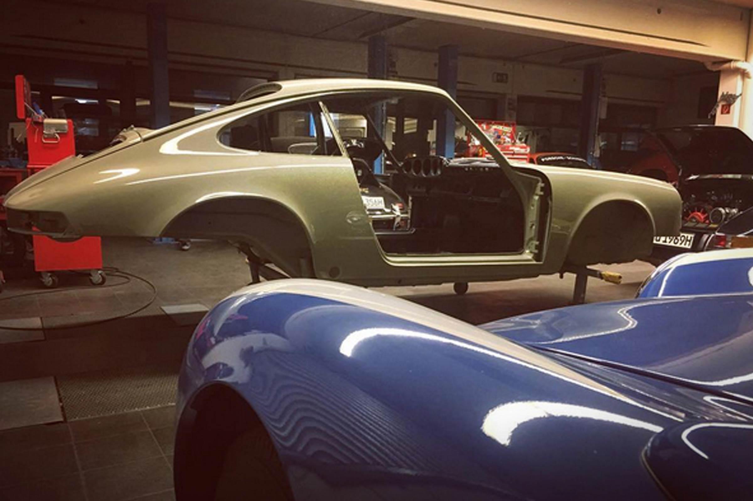 """Die Entstehung des Porsche 911 """"9110101621"""""""