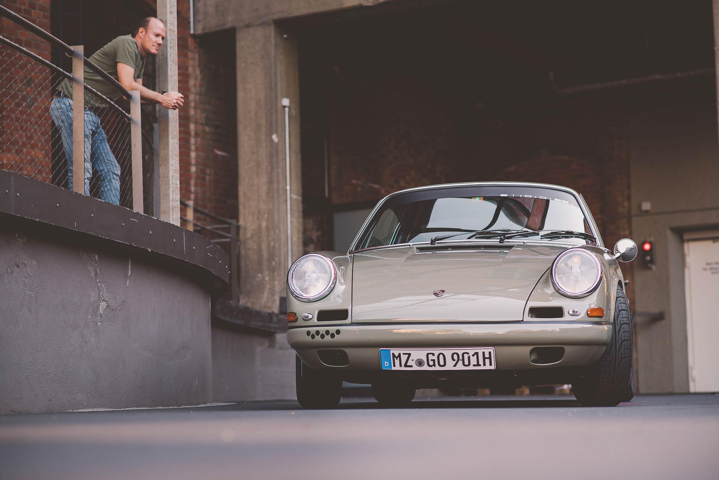 Markus Haub und sein 911er Foto-© 2018 Steffanie Rheinstahl
