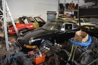 Das Spenderauto, der schwarze Porsche 911