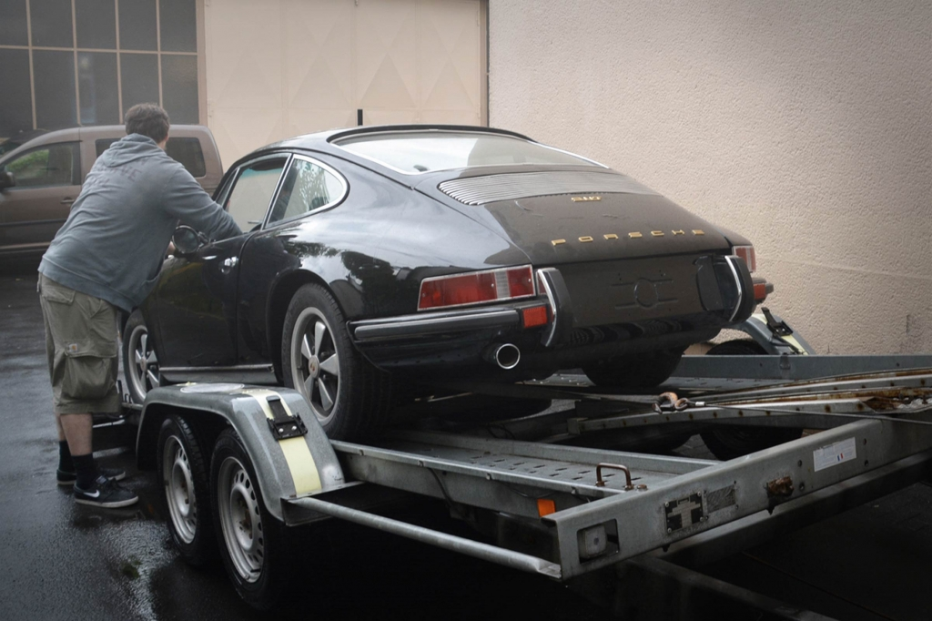 Spenderfahrzeug - Markus Haub und sein 911 Porsche
