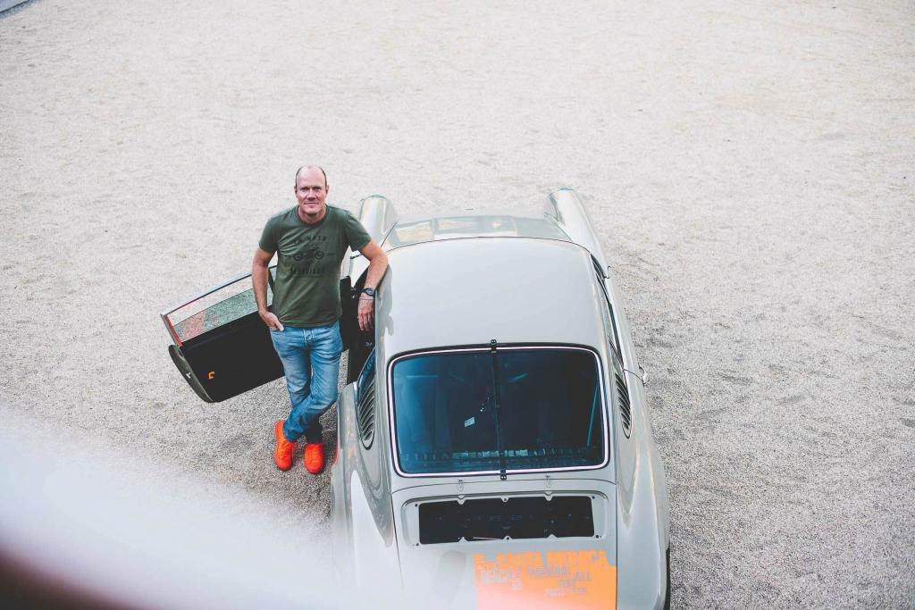 Markus Haub mit seinem Porsche 911, Foto: © 2018 Steffanie Rheinstahl